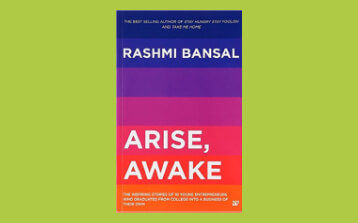 "Featured in a book ""Arise, Awake "" by Rashmi Bansal , based on 10 inspiring stories of startups in India"